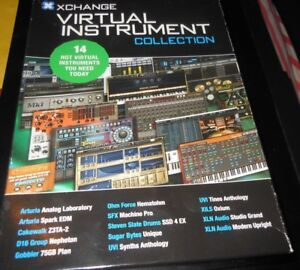 Details about XCHANGE Virtual Instrument Collection VST Software