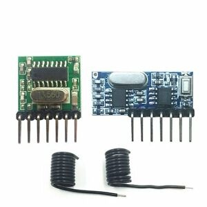 433mhz Wireless Rf Module 4 Channel Output Receiver And