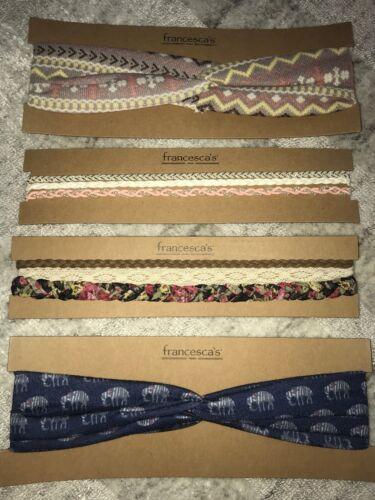 Francesca's Beaded Elastic Headbands