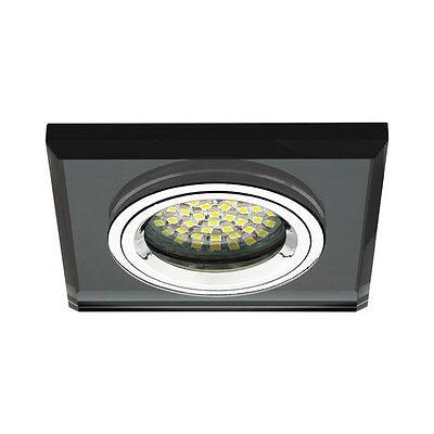 LED Einbau-Strahler Einbau-Spot Decke Einbau-Leuchte Glas GU10 GU5,3 MR16
