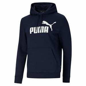 PUMA Men's Essentials Big Logo Hoodie
