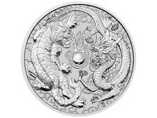 1 $ Dollar Dragon and Tiger - Drache und Tiger - Australien 1 oz Silber 2018