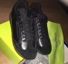 Men's Versace Trainers Black Size 8 for