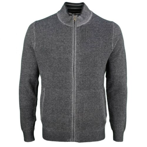 Olymp Men's Knit Jacket Anthracite Marl 5301 16 67