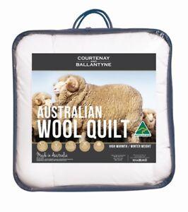 Tontine-375-500-GSM-Australian-Wool-Quilt-Doona-Duvet-All-Season-amp-Winter-Weight
