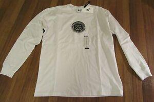 Nike-Stussy-SS-Link-Long-Sleeve-L-S-Tee-T-Shirt-Size-Medium-White-Brand-New-NWT
