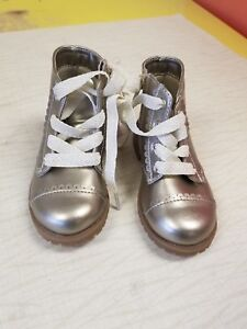 Toddler-Girl-039-s-Molls-Gold-Metallic-Fashion-Boots-Bling-Cat-amp-Jack-5-6-7-8-10-11