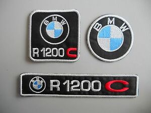 BMW-R1200-C-KIT-3-TOPPE-PATCH-RICAMATE-TERMOADESIVE