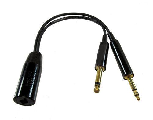 David Clark 18253g 05 Aviation Headset Cord Adapter U92a U To Pj068 Pj055 For Sale Online Ebay