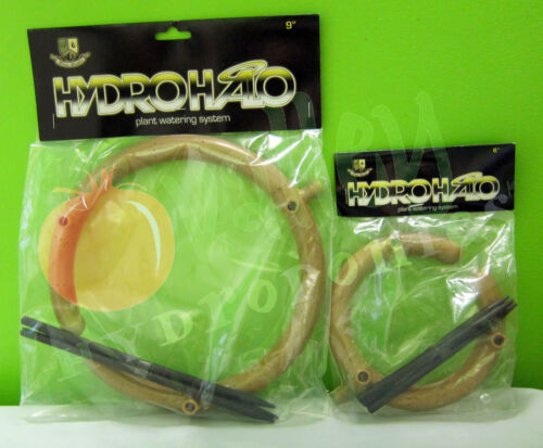 """Bloom Brothers 6/"""" 9/"""" inch HYDRO HALO WATER RING Hydroponics Soil Drip Irrigation"""