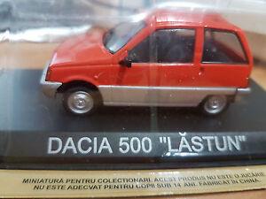 Dacia-500-034-LASTUN-034-Arancio-Scala-1-43-DeAgostini-Nuova