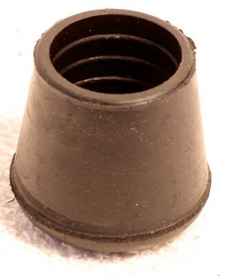 Fishing Rod Building Custom Professional Rubber Rubber Butt Cap White 1486 N