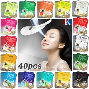 40PCS-Essence-Facial-Face-Mask-Sheet-Moisture-Face-Mask-Pack-Korean-Cosmetics