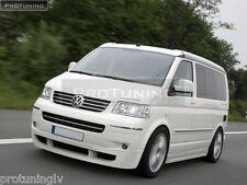 VW T5 03-09 Caravelle Multivan Front Bumper spoiler lip Valance addon extension