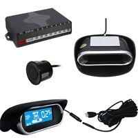 8 Parking Sensors LED Display Car Auto Reverse Radar Collision Avoidance System