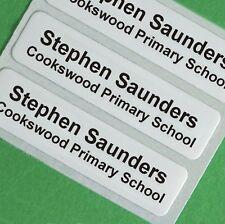 50 hierro en la escuela Children's clothes etiquetas de nombre, cintas, etiquetas, etiquetas de la ropa