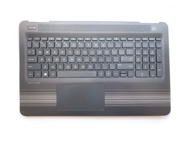 HP 15-AU 15-AW Palmrest Backlit Keyboard with Touchpad 856028-001