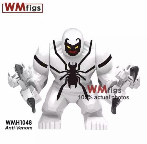 Marvel Venom Carnage Riot movie action figures anti-poison brick building blocks