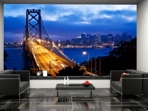 San Francisco Wall Mural Photo Wallpaper GIANT DECOR Paper Poster Free Paste