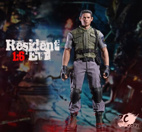 ZC Toys 1//6 Scale Resident Evil Chris Movable Action Figure Model