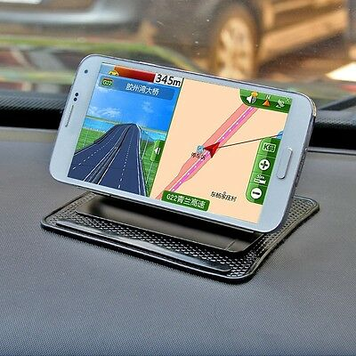 Universal Car Dashboard Mount Holder Sticky Non-slip Pad Mat for Cell Phone GPS