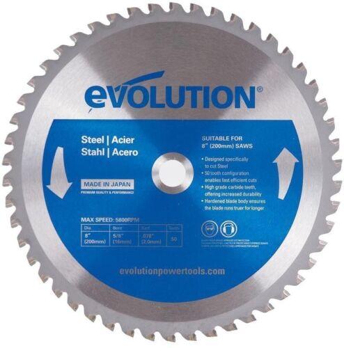 5800 RPM 50 Carbide Teeth Mild Steel Cutting Power Tool Circular Saw Blade 8 in
