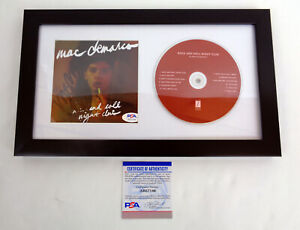 Mac-Demarco-Signed-Autograph-Rock-And-Roll-Night-Club-CD-Framed-PSA-DNA-COA-A