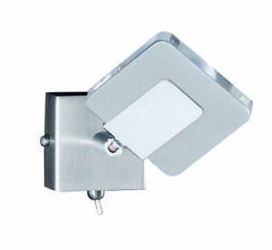 Honsel-LED-Wandleuchte-Nickel-matt-und-Chrom-Acrylglas-klar-beweglicher-Refle
