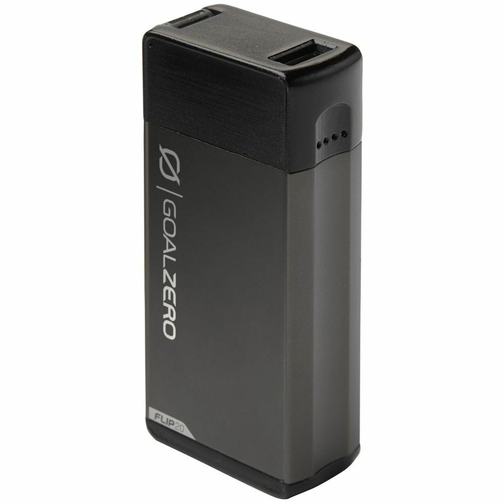 GOAL ZERO Flip 20 Recharger  - Charger for USB powered devices, iPhone etc GREY  creative products