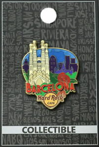 Hard-Rock-Cafe-BARCELONA-2017-034-GREETINGS-FROM-034-Series-PIN-Guitar-Pick-City-Icons