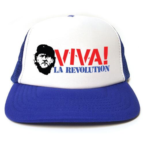 Labour Party Politics Jeremy Corbyn /'Viva La Revolution/' Retro Trucker Cap