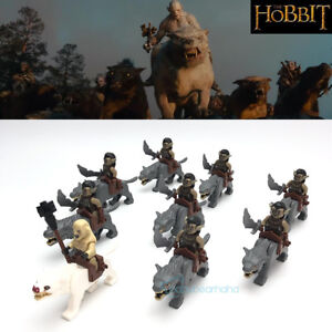 18PCS-Lord-Of-The-Rings-The-Hobbit-Azog-ORC-Wolf-riding-Army-Building-Blocks-Toy