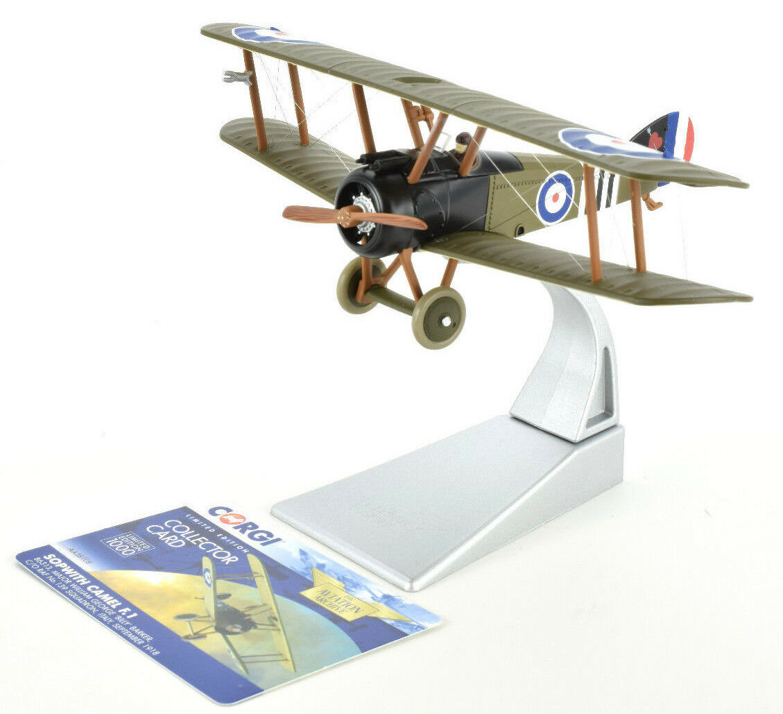 Corgi Sopwith Camel F.1 B6313 - September 1918 1 48 Die-Cast Airplane AA38108