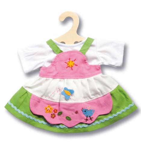 *  Größe 35 cm-45 cm Puppen-Kleid 2310 Puppenkleider 2 tlg * Heless
