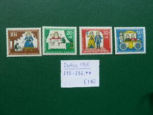 Berlin 1966, Wohlfahrt: Märchen der Gebrüder Grimm (III), Michel 295-298, ** - Heidelberg, Deutschland - Berlin 1966, Wohlfahrt: Märchen der Gebrüder Grimm (III), Michel 295-298, ** - Heidelberg, Deutschland