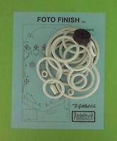 1961 Gottlieb Foto Finish Pinball Rubber Ring Kit
