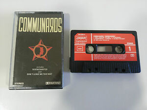 COMMUNARDS-COMMUNARDS-CASSETTE-TAPE-CINTA-LONDON-RECORDS-1986-SPANISH-EDITION