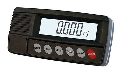 Display MI102S Stainless Steel Weighing Indicator with RS232 port