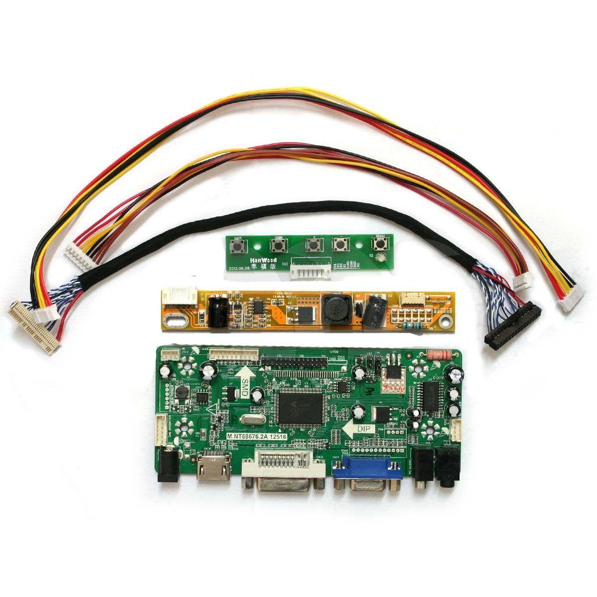 NT68676 LCD LVDS Controller Board Kit per HSD190ME12-A06 1280X1024 HDMI + DVI + VGA