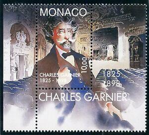 Stamp / Timbre De Monaco N° 2156 ** Architecte Charles Garnier