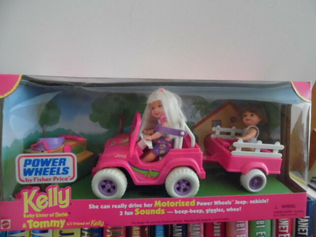 Kelly /& Tommy Power Wheels by Fisher-Price /& Mattel Motorized With Sounds-NEW!