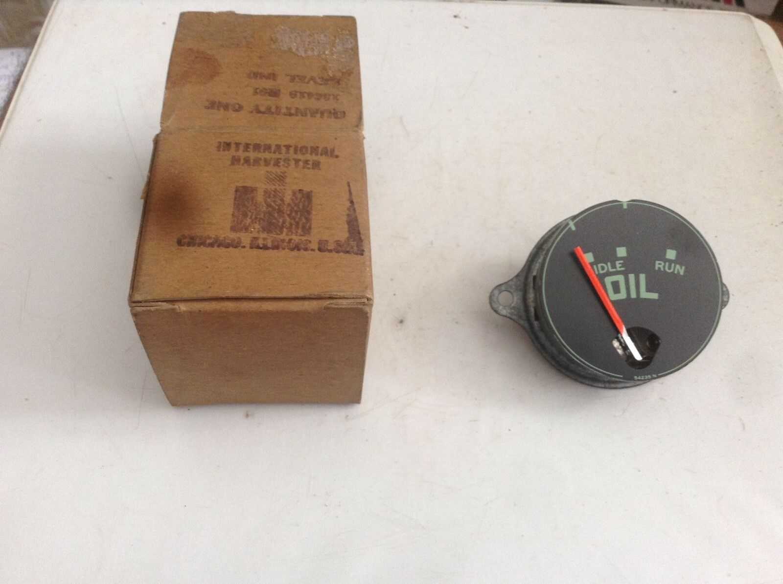 186419r91 A Original Oil Pressure Gauge For An Ih 1956 1964 Ford 8n No Norton Secured Powered By Verisign