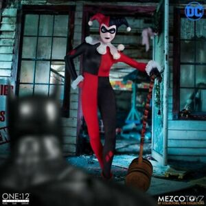 DC Comics Actionfigur 1/12 Harley Quinn Deluxe Edition 16 cm