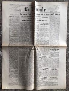 N64-La-Une-Du-Journal-Le-Monde-3-Avril-1945