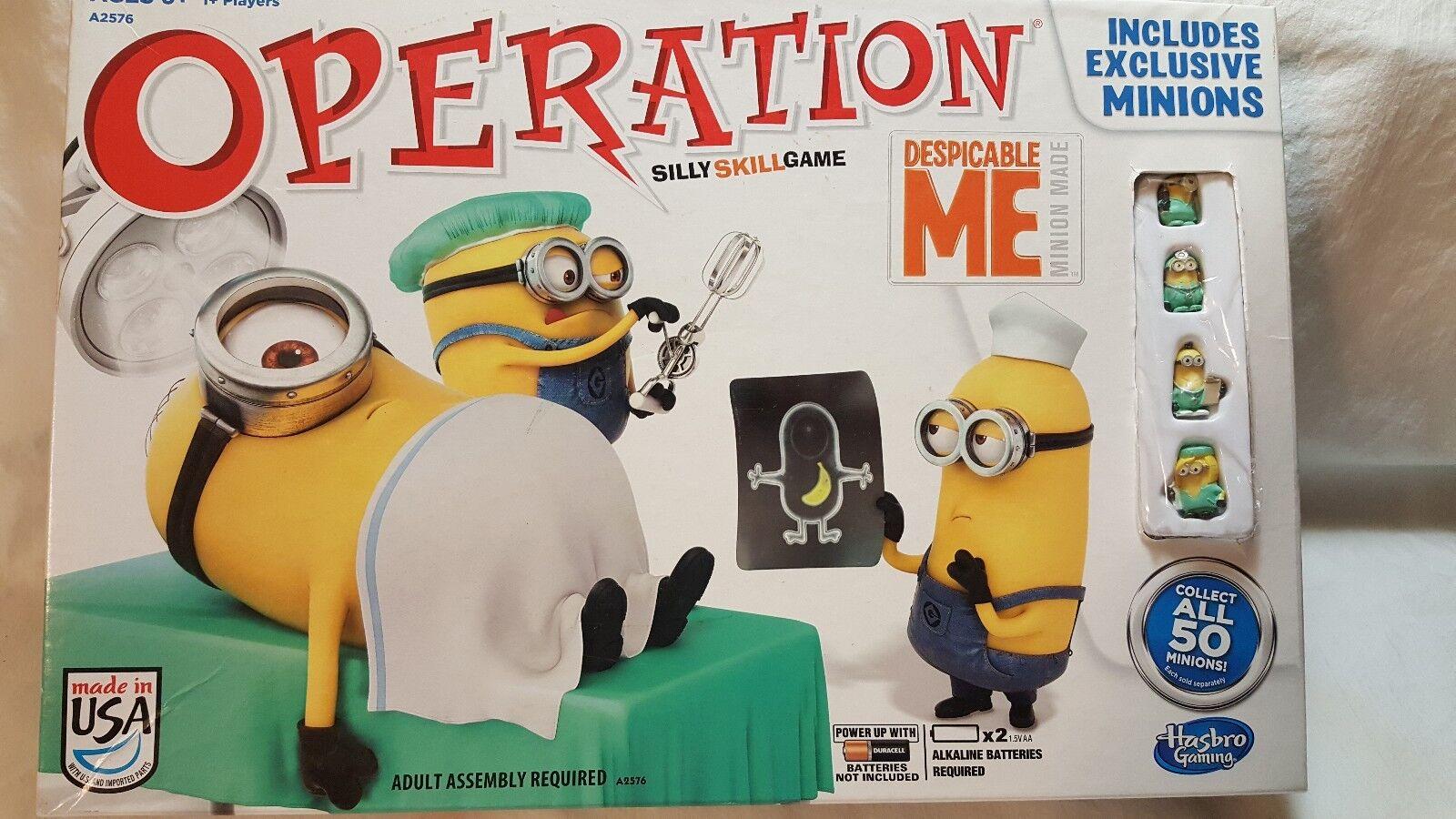 Hasbro despicable me 2 operation brettspiel