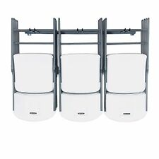 Chair Storage Rack Hanger-Large Garage Home Wall Organizer-Folding-Monkey-Bars