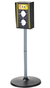 Blitzer-Radarfalle-Kinder-Verkehrserziehung-Spielzeug-Radargeraet-mit-Licht-Sound
