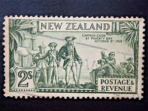 NEW-ZEALAND-1-USED-STAMP-SC-197