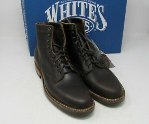 Whites-Boots-MP365D-Dark-brown-wax-9-5-D-6-034-Dainite-sole