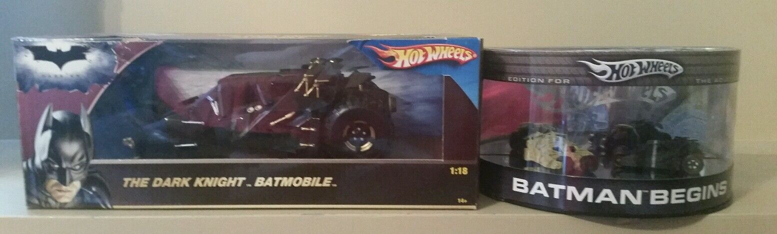 Hot Wheels Batman Batmobile tumbler lot